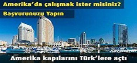Amerika Kapılarını Türk'lere Açtı!