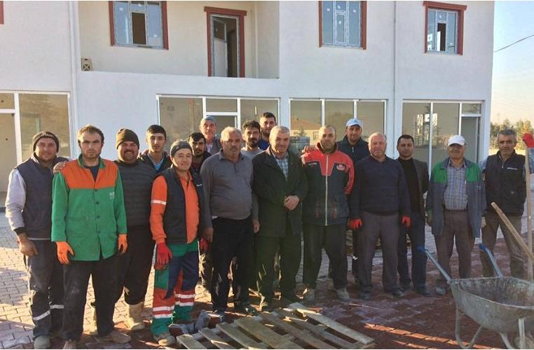 Kökez Köyü Muhtarı Ahmet Kırlı'dan örnek uygulama