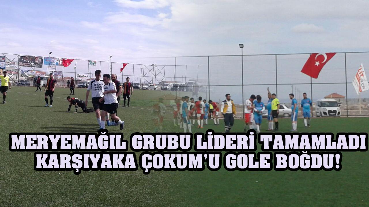 Meryemağıl Grubu Lideri tamamladı, Karşıyaka Çokum'u Gole Boğdu!