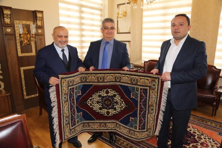 Rize Eski Milletvekili Şevki Yılmaz'dan Vali Aykut Pekmez'e ziyaret