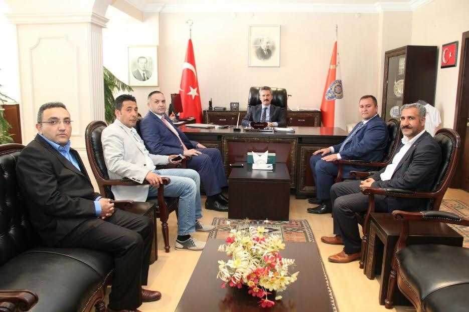 ASİAD Emniyet Müdürü Karabağı  Ziyaret etti