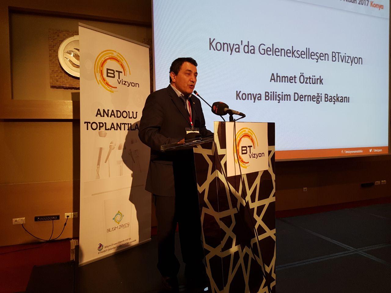 Konya'da 'BT vizyon Anadolu Yıldızı Toplantısına Yoğun ilgi!