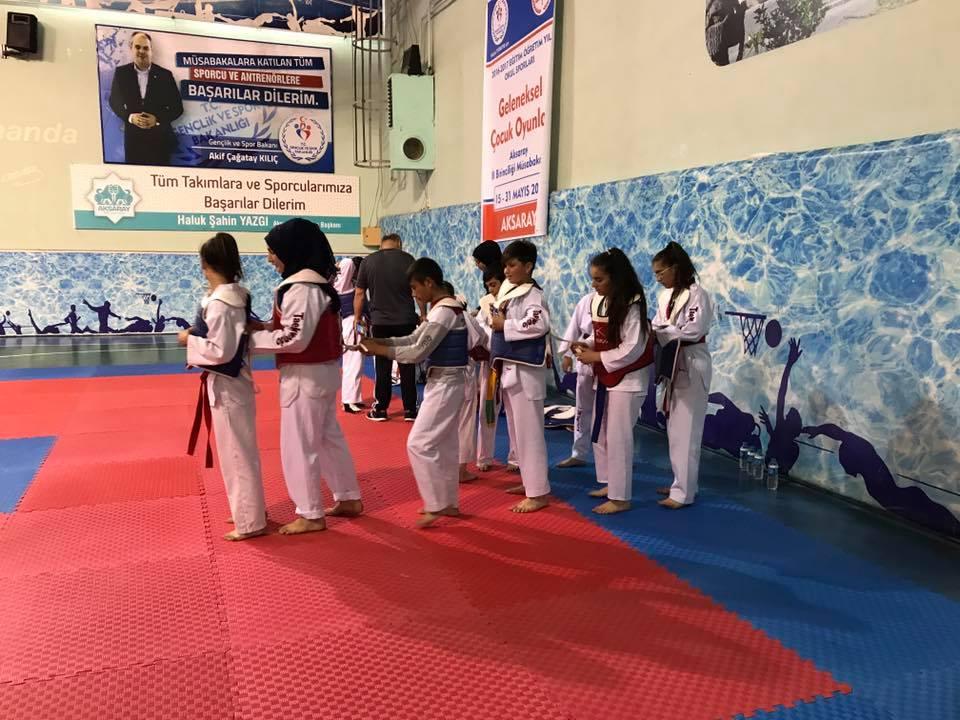 Eskil Taekwondosu fark oluşturmaya devam ediyor!