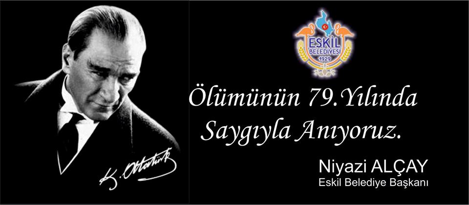 Başkan Alçay'ın 10 Kasım Atatürk'ü Anma Mesajı