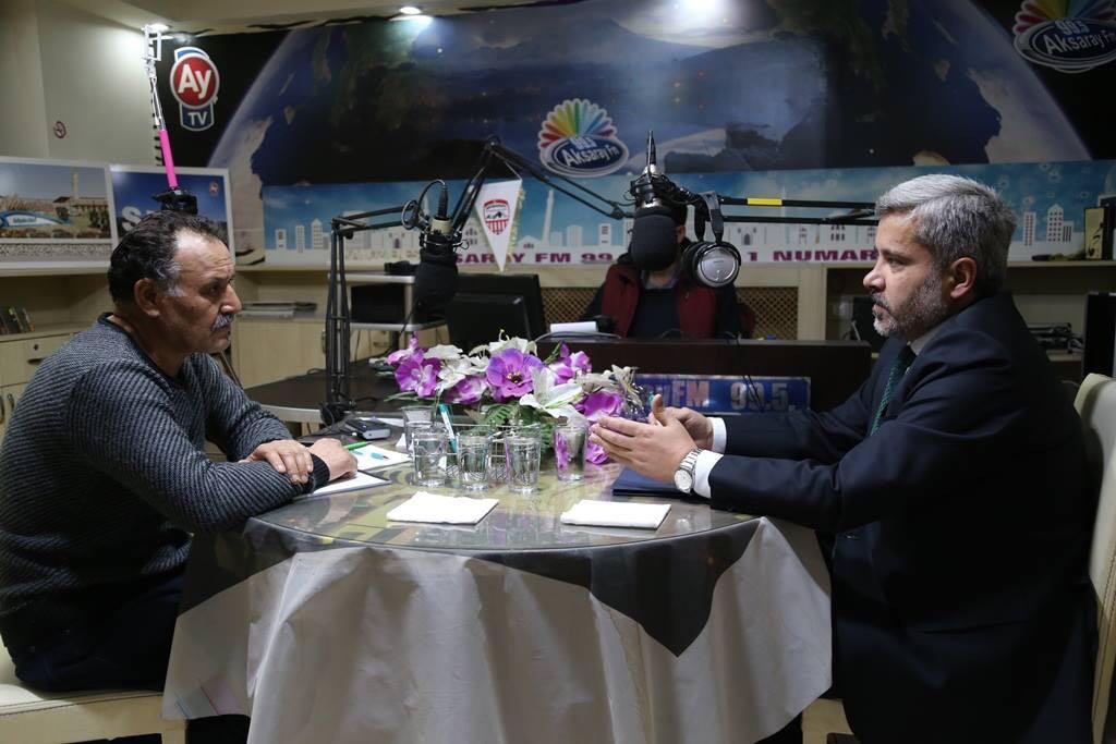 Rektör Şahin Aksaray FM'de Son İki Yılı Değerlendirdi