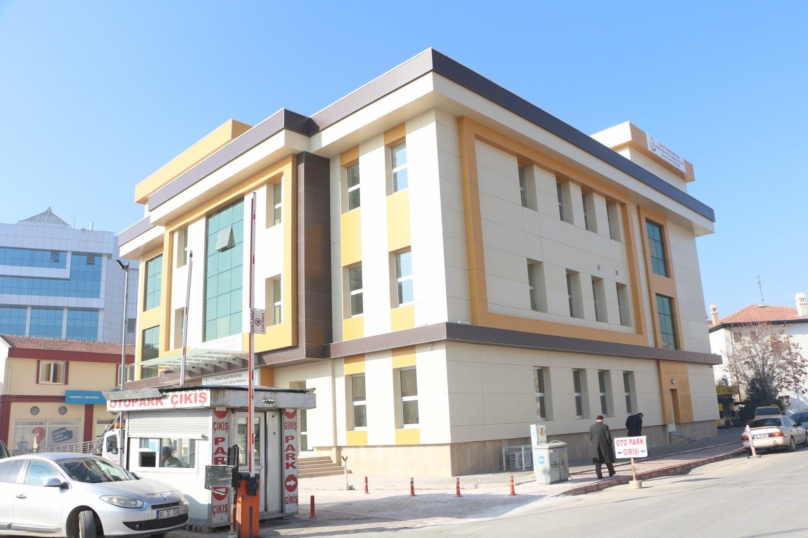Karatay Belediyesi Ağız ve Diş Sağlığı Merkezi'nin yapımı tamamlandı
