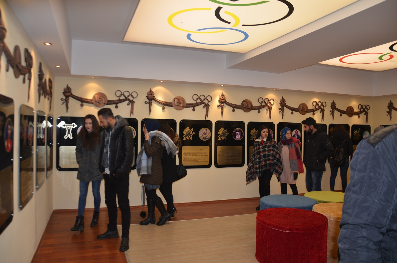 Karatay Fair-Play Müzesine Necmettin Erbakan Üniversitesi Öğrencilerinden Ziyaret