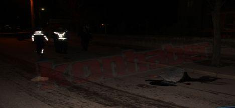 Konya'da trafik kazası: 1 ölü 1 ağır yaralı
