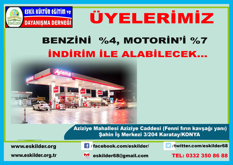 ESKİLDER, Benzinde  %4, Motorin'de %7 indirim için Nadir Avcan Petrolleri ile anlaşma imzaladı…