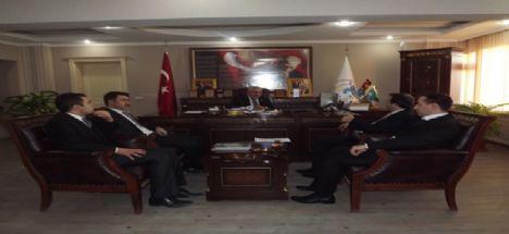 TKDK Aksaray İl Koordinatörü ve Yetkililerinden Başkan Alçay'a Ziyaret!
