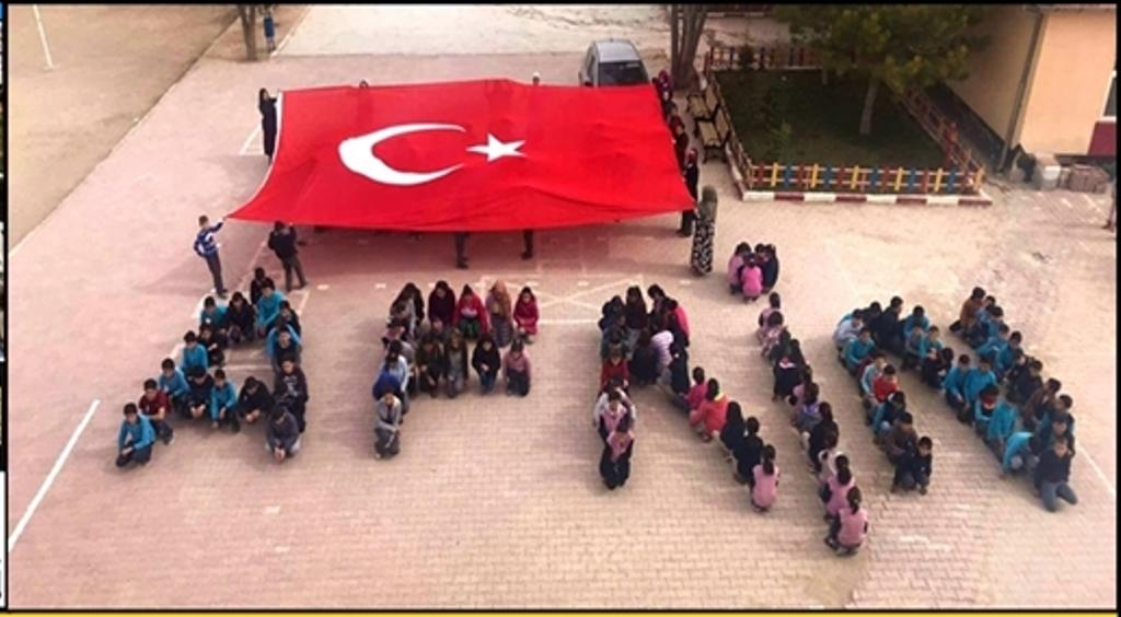 Eskil Ortakuyu okulu öğrencilerinden Anlamlı Kampanya