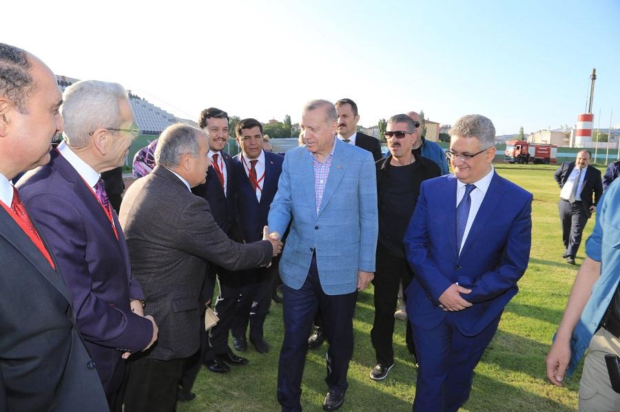 Cumhurbaşkanı Recep Tayyip Erdoğan Aksaray'da