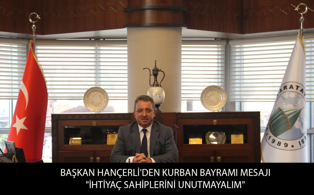 Başkan Hançerli'den Kurban Bayramı Mesajı