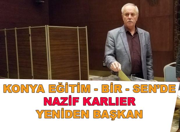 """Eskilli Eğitimci, """"Nazif Karlıer yeniden başkan!"""""""