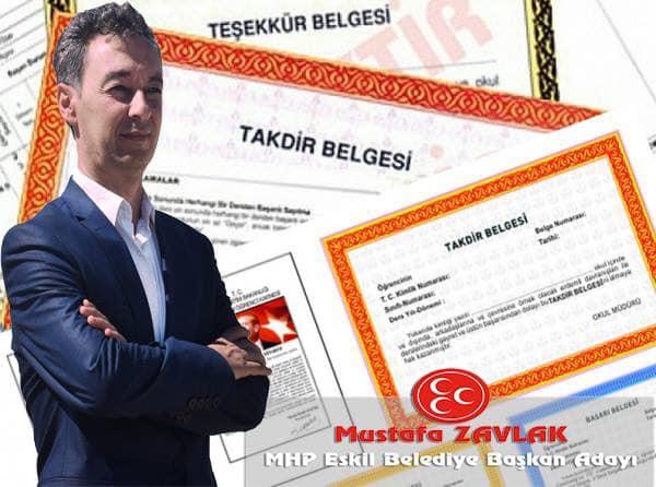MHP adayı Mustafa Zavlak'tan Yarıyıl Tatili Mesajı