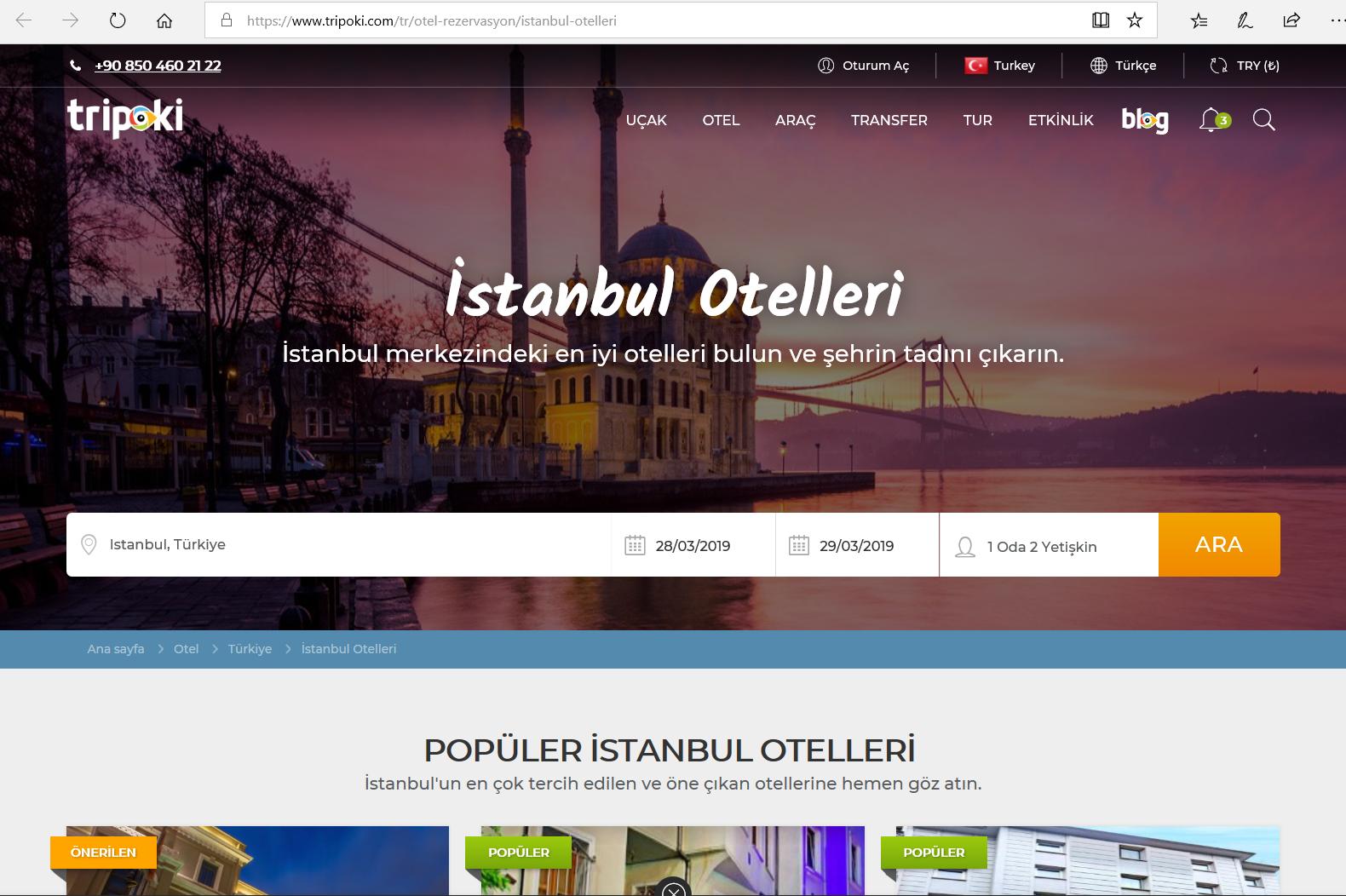 İstanbul Otelleri Konforda Üst Sıralarda
