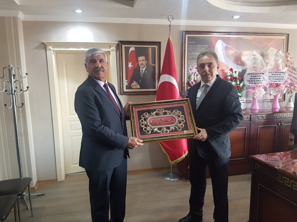 Konya Valisi Cüneyit Orhan Toprak'tan Eskil'e ziyaret!