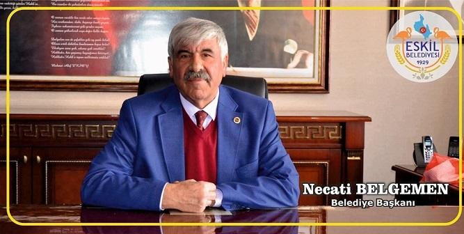Eskil Belediye Başkanı Necati Belgemen'in yeni yıl mesajı