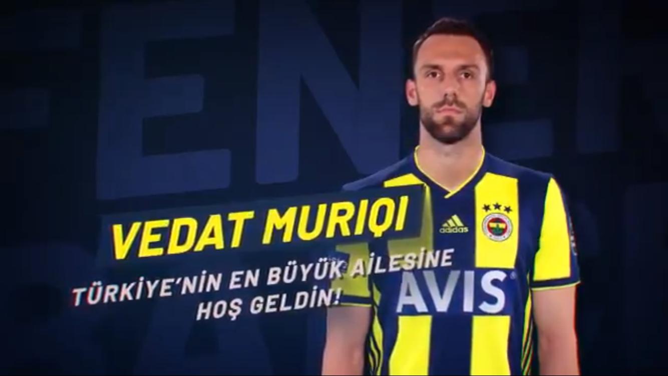 Vedat Muriç Fenerbahçe'de
