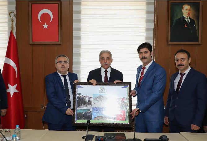 Konya'daki Eskillilerden Konya Valisi Toprak'a Ziyaret!