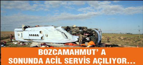 Bozcamahmut'a 112 Acil Servis Açılıyor