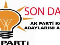 AK Parti'nin Konya ilçe belediye başkan adayları belli oldu