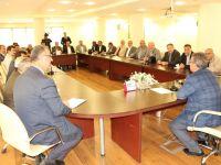 Karatay Belediye Başkanı Mehmet Hançerli Muhtarlar İle Bir Araya Geldi