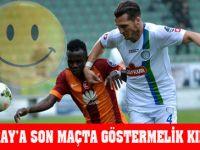 Galatasaray'a Son Maçta göstermelik Kırmızı Kart!