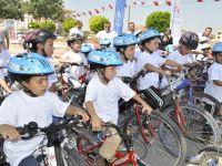 Olimpiyat Parkında Düzenlenen Karatay Düz Bisiklet Yarışları Çekişmeli Geçti