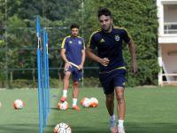 Volkan Şen, Fenerbahçe'deki İlk Antrenmanına Çıktı
