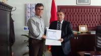 ASÜ Eğitim Fakültesi Dekanlığına Prof. Dr. İsmet Emre Atandı