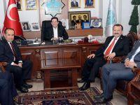 Aksaray'ın Vekilleri Aydoğdu ve Serdengeçti Yazgı'yı Ziyaret Etti
