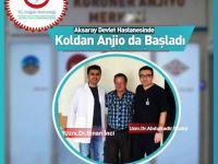 Aksaray Devlet Hastanesi'nde koldan anjiyo da başladı