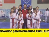 İl Taekwondo şampiyonasında Eskil rüzgârı!