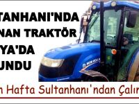 Çalınan Traktör Konya'da bulundu