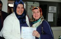 AKMEK'te sertifika heyecanı