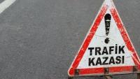Eskil'de motosiklet kazası: 1 yaralı