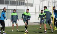 Konyaspor'da ,  maçı hazırlıkları tamamladı