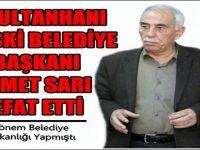 Sultanhanı Eski belediye başkanı İsmet Sarı  Vefat etti