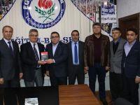 Vali Aykut Pekmez; sendika temsilciliklerini ziyaret etti