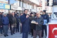 İyi ki varsın Eskil Gönülbağı Derneği! Suriye'ye bir tır dolusu un gönderildi