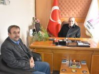 Başkan Alçay'dan Veli Çıracı'ya ziyaret
