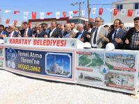 Yeni Özlem Camii'nin Temeli Dualarla Atıldı