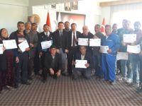 Aksaray'da Girişmciler Başkan Yılmaz'ın katılımı ile sertifikalarını aldılar!