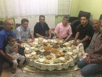 Başkan Hançerli Şehit Azam Güdendede'nin ailesinin iftar konuğu oldu