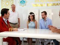 """Aksaray'da Rekor Evlilik 07.07.2017 Gününde 21 Çift """"Evet"""" Dedi."""