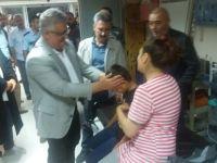 Vali Aykut Pekmez: 'Kaçırılan çocuğumuzu düzenlenen operasyonla sağ salim kurtardık'.