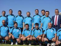 Türkiye Masterler Futbol Şampiyonası Aksaray'da başladı