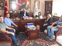 Abdülkadir Karatay'dan Başkan Alçay'a Ziyaret…