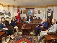 Okul İdarecileri ve Öğretmenlerden Başkan Yazgı'ya Teşekkür Ziyareti